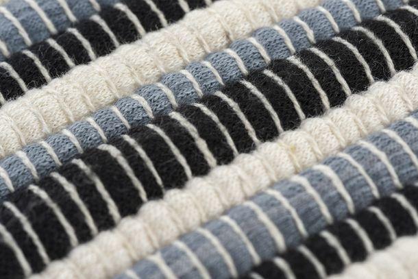 Pillow Case Barbara Becker striped texture cream 45x45cm online kaufen