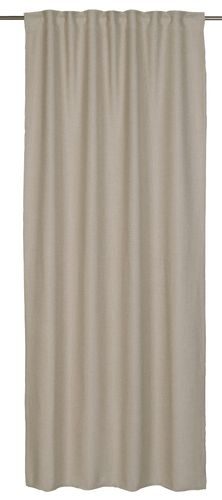 Loop curtain Barbara Schoeneberger textured beige 140x255cm online kaufen