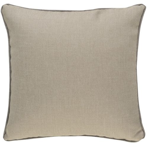 Kissenhülle BARBARA Home Collection Uni Webstruktur beige 50x50cm online kaufen