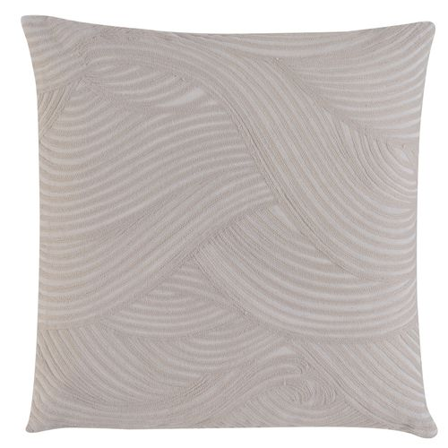 Kissenhülle BARBARA Home Collection Wellen creme 50x50cm online kaufen