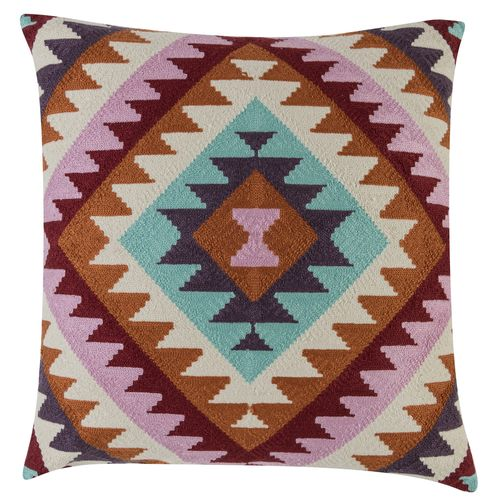 Kissenhülle BARBARA Home Collection Kelim Ethno bunt 50x50cm online kaufen