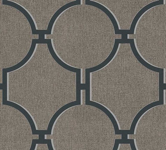 Wallpaper graphic brown black AS Creation 36149-5 online kaufen