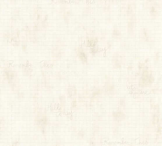 Wallpaper graphic cream grey AS Creation 35872-2 online kaufen