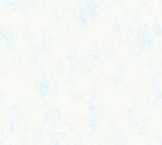 Wallpaper leaf light blue gloss AS Creation 35875-3 online kaufen