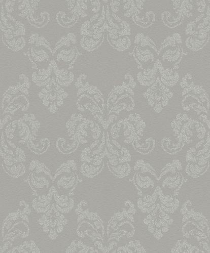 Wallpaper Rasch baroque grey silver glitter 503814 online kaufen