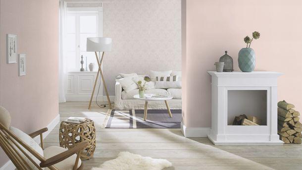 Wallpaper Rasch spangle pink silver glitter 523157 online kaufen