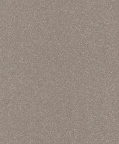 Wallpaper Rasch plain taupe bronze glitter 523362