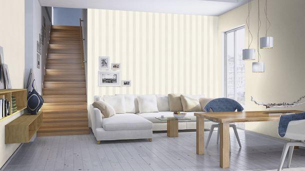 Wallpaper Rasch streaks silver glitter 523508 online kaufen