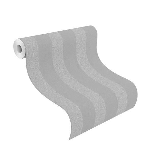 Wallpaper Rasch streaks grey silver glitter 523539 online kaufen