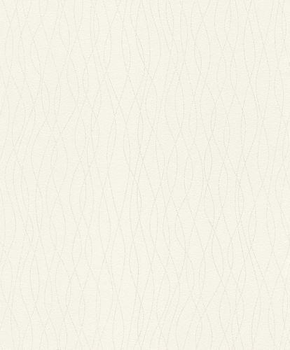 Wallpaper Rasch lines silver glitter 523805
