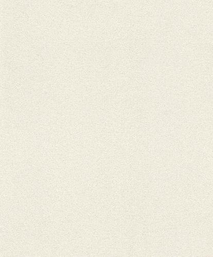 Vliestapete Rasch Glimmer Weiß Silber Glitzer 898231