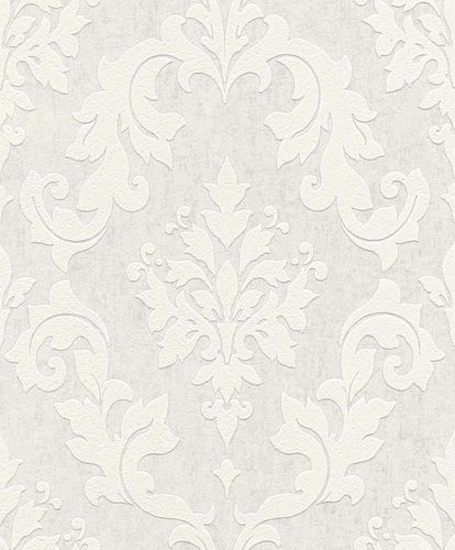 Wallpaper paintable baroque pattern Rasch 119107 online kaufen