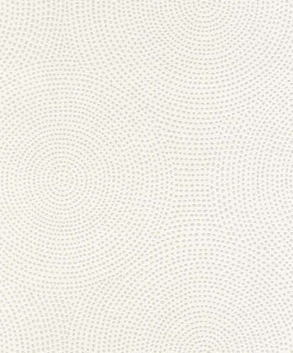 Wallpaper paintable circle dot Rasch Wallton 119701 online kaufen