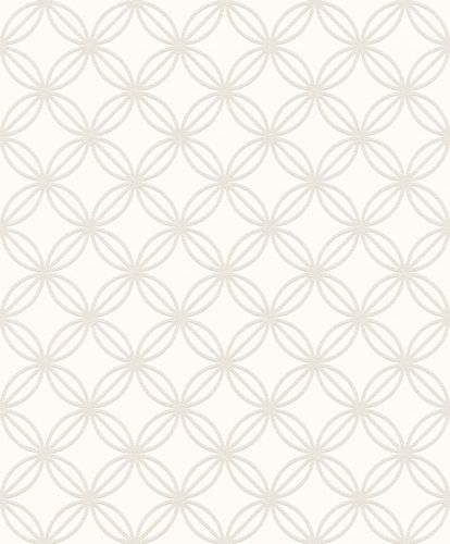 Wallpaper paintable circle grid Rasch Wallton 126020 online kaufen