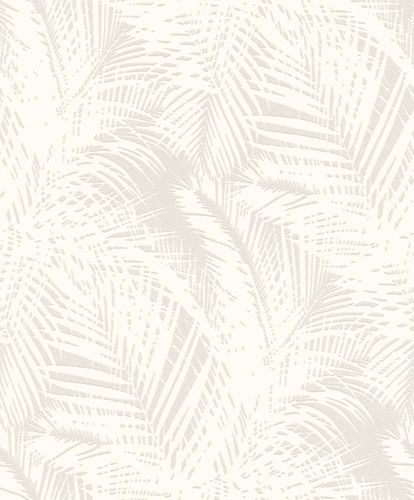 Wallpaper paintable palm leaf Rasch Wallton 126426 online kaufen
