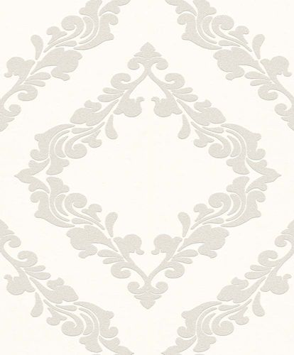 Wallpaper paintable flourish Rasch Wallton 126907 online kaufen