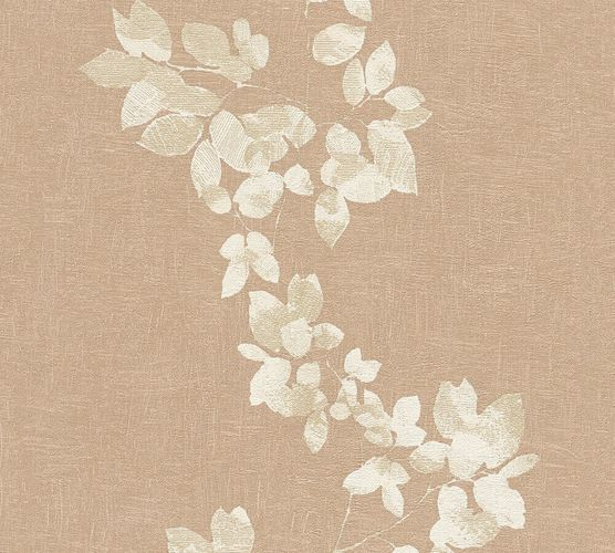 Wallpaper Daniel Hechter leaf tendril beige brown 34495-2 online kaufen