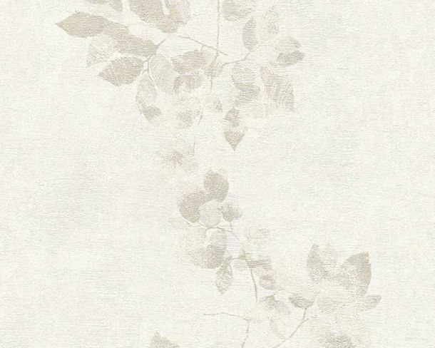 Wallpaper Daniel Hechter leaf tendril grey 34495-4 online kaufen