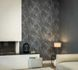 Article picture Wallpaper Daniel Hechter 3D polygon wood design anthracite 36133-3 2