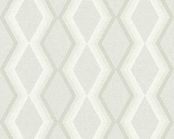 Wallpaper Daniel Hechter 3D diamond light grey 36262-2