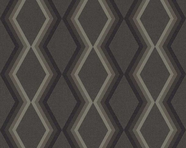 Wallpaper Daniel Hechter 3D diamond black 36262-5 online kaufen