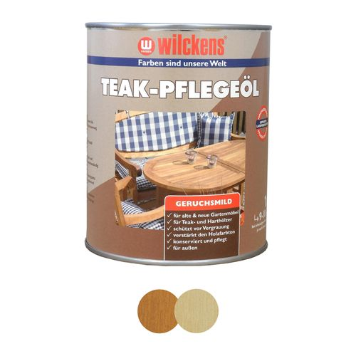 Wilckens Indoor Wood Oil Teak & Transparent 1 litre online kaufen