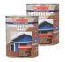 Wilckens Wetterschutzfarbe Holzdeckfarbe 2,5 Liter | 7 Farben seidenglänzend 1