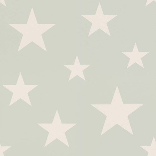 Kids Wallpaper Stars mint green white 128865 online kaufen