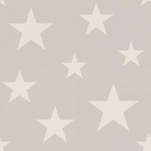 Kids Wallpaper Stars grey white World Wide Walls 128866 online kaufen