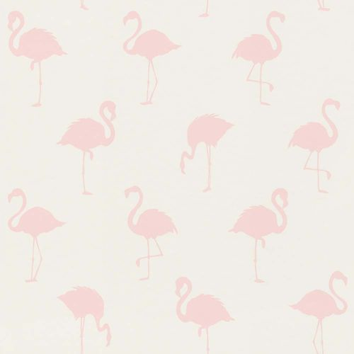 Kids Wallpaper Flamingos white pink World Wide Walls 138918 online kaufen