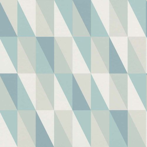 Kids Wallpaper Triangle mint green beige 138920 online kaufen