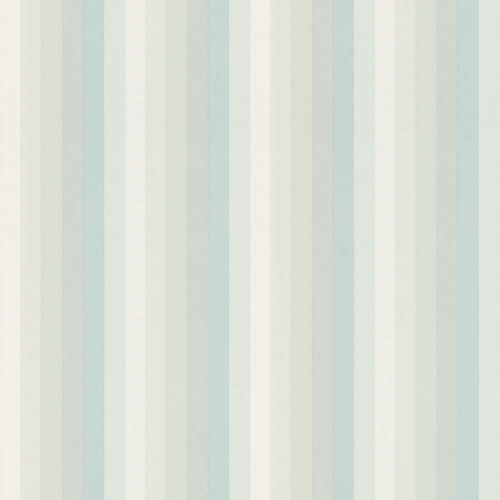 Kids Wallpaper Stripes mint green turquois 138926 online kaufen