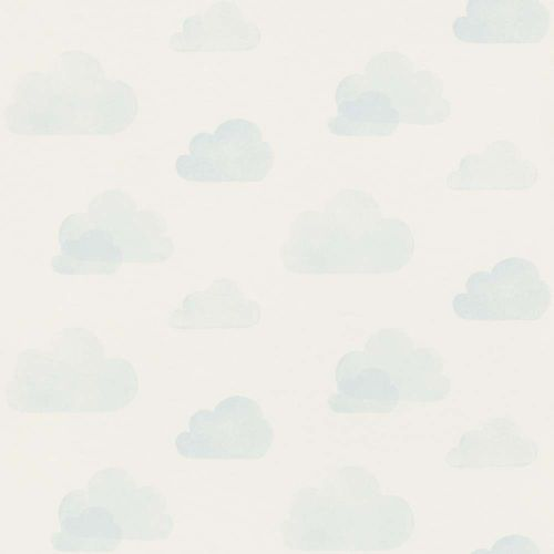 Kids Wallpaper Clouds Sky white light blue 138930 online kaufen