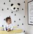 Product picture Kids Wallpaper Triangle white black Rasch Textil 138942 2