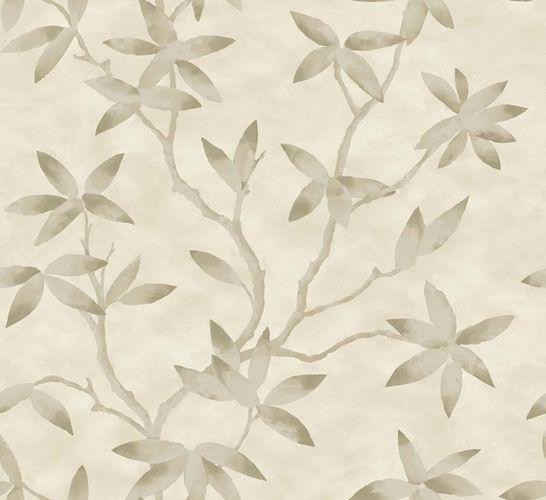 Wallpaper tendril leaf light brown gloss 200703 online kaufen