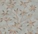 Wallpaper tendril leaf grey bronze gloss 200704 001