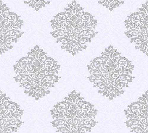 Non-Woven Wallpaper Ornament lilac Architects Paper 32480-2