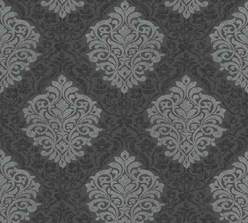 Non-Woven Wallpaper Ornament black Architects Paper 32480-4 online kaufen