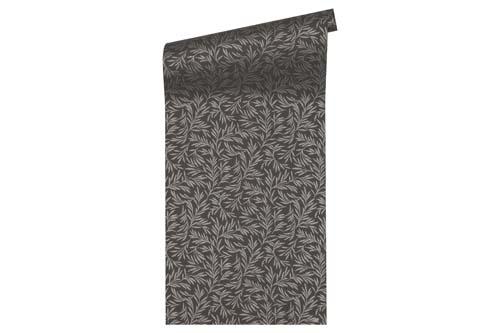 Non-Woven Wallpaper floral black Architects Paper 33326-5 online kaufen