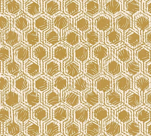 Non-Woven Wallpaper combs gold Architects Paper 33327-3 online kaufen