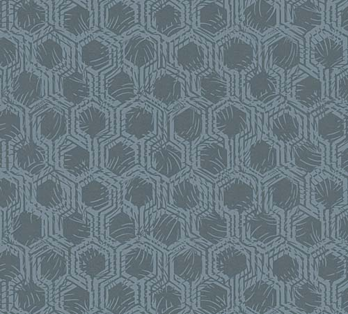 Non-Woven Wallpaper combs blue Architects Paper 33327-4 online kaufen