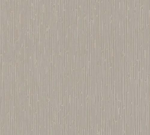 Non-Woven Wallpaper stripes Abstract taupe metallic 33328-1 online kaufen