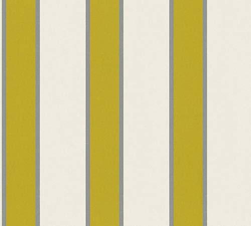 Vliestapete Streifen creme grün Architects Paper 33329-2 online kaufen
