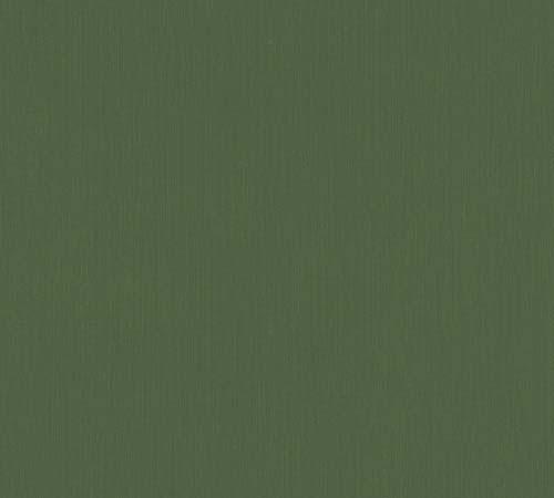 Vliestapete Uni Streifen grün Architects Paper 33370-3