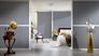 Room picture Non-Woven Wallpaper plain grey Architects Paper Alpha 33372-3 4