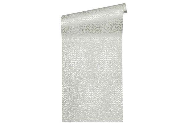 Non-Woven Wallpaper circle grey Architects Paper 33373-3 online kaufen