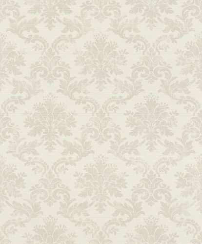 Non-woven Wallpaper Rasch Ornament cream taupe 401424