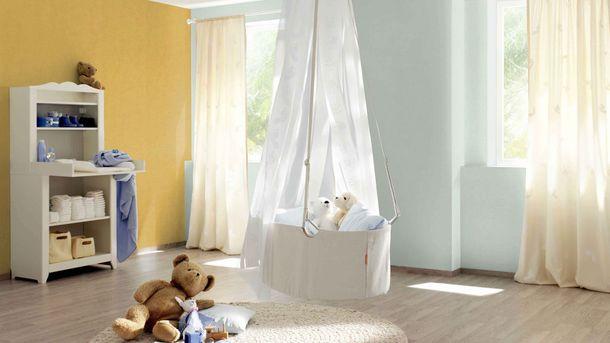 Non-Woven Wallpaper Plain Texture Design yellow 489910 online kaufen