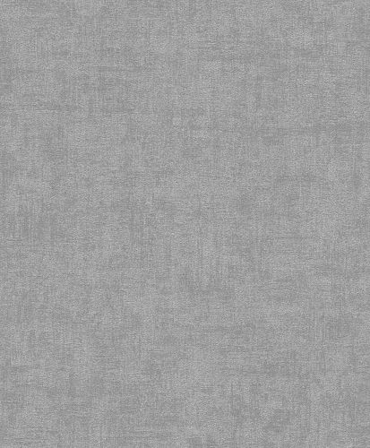 Non-Woven Wallpaper Plain Texture Design silver-grey 489941 online kaufen