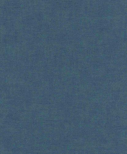 Non-Woven Wallpaper Plain Texture Design petrol 490091 online kaufen